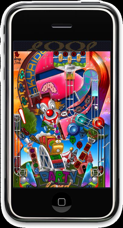 Screenshot of Pinball Dreaming: Pinball Fantasies